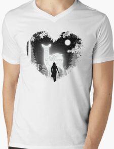 Always Heart Mens V-Neck T-Shirt