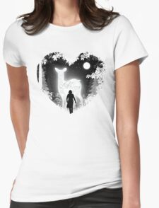 Always Heart Womens Fitted T-Shirt