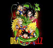 Dragon Ball Son Goku - Chibilette by coffeewatson