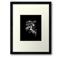 Macross - Skull Squadron (Roy Focker) Framed Print
