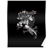 Macross - Skull Squadron (Roy Focker) Poster