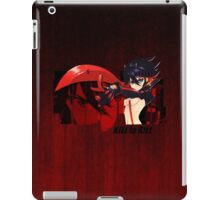 Red Scissor Blade iPad Case/Skin