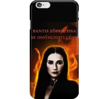 The Red Woman iPhone Case/Skin