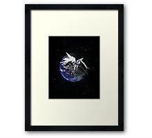 Gundam Wing: Endless Waltz - Zero Framed Print