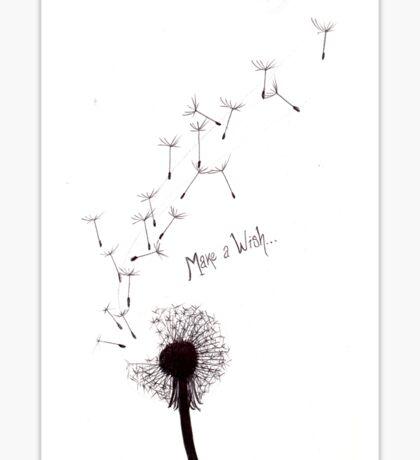 Make A Wish Sticker