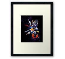 Mobile Fighter G Gundam - Shinning Gundam Framed Print