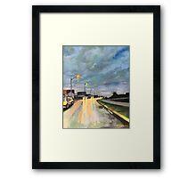 Street Light Study Framed Print