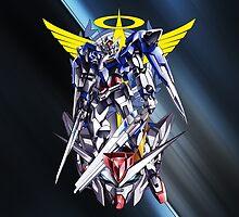 Mobile Suit Gundam 00 by coffeewatson