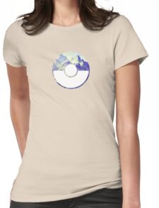 Team Mystic Pokeball Womens Fitted T-Shirt