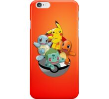 First Generation Pokemon iPhone Case/Skin