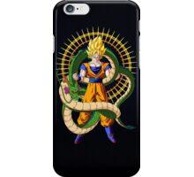 Shenron X Son Goku iPhone Case/Skin
