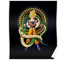 Shenron X Son Goku Poster
