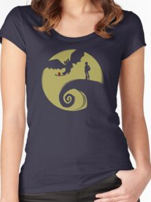Dragon Nightmare Women's Fitted Scoop T-Shirt