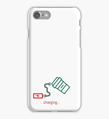 Battery Charging... iPhone Case/Skin