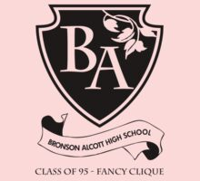 I'm So Fancy - (Black Ink) Clueless - Bronson Alcott High School Class of 95 by designedbyn