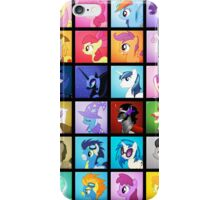 Pony Blocks iPhone Case/Skin