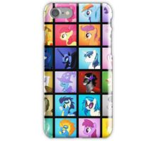 Pony Blocks iPhone Case/Skin