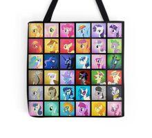 Pony Blocks Tote Bag