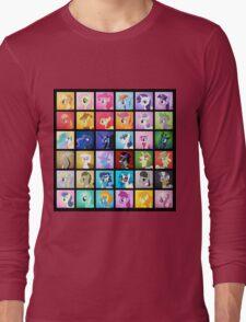 Pony Blocks Long Sleeve T-Shirt
