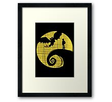 Dragon Nightmare2 Framed Print