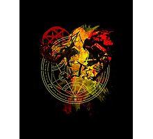Full Metal Alchemist - Blood Rune Photographic Print