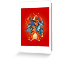 I Mega Charizard Greeting Card