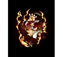 I Natsu Dragneel of Fairy Tail Photographic Print