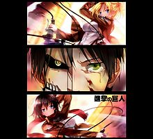 Attack on Titan - Regrets and Revenge by coffeewatson
