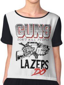Major Lazer Chiffon Top