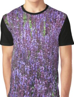 Lavender Spikes Graphic T-Shirt