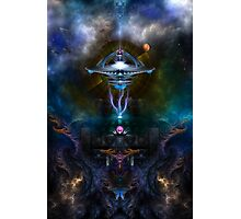 Space Station Ansarious Photographic Print