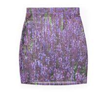 Lavender Spikes Mini Skirt