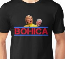Hillary and Bill Clinton - BOHICA for 2016! Unisex T-Shirt