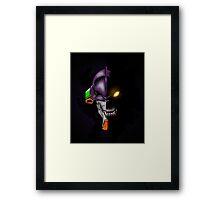 EVA Unit 01 Framed Print