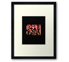 We Are the World - Seven Sins Framed Print