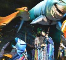 Shark Gang and Fish Friends - Finding Nemo: the Musical Sticker