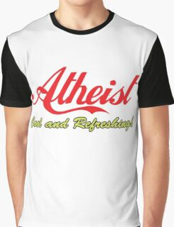 """Atheist """"Cool and Refreshing!"""" (On any color) Graphic T-Shirt"""