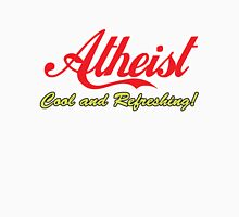 "Atheist ""Cool and Refreshing!"" (On any color) Men's Baseball ¾ T-Shirt"