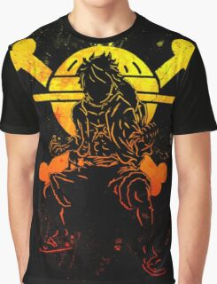 Grunge one piece Graphic T-Shirt