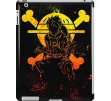Grunge one piece iPad Case/Skin