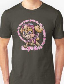 Flying Pup Unisex T-Shirt