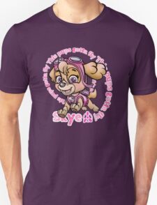 Flying Pup Unisex T-Shirt