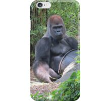 Gorilla Says iPhone Case/Skin