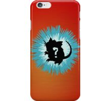 Who's that Pokemon - Raticate iPhone Case/Skin