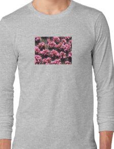 Pink Garden Long Sleeve T-Shirt