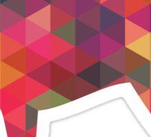 Parson Terrier - Colorful Geometric Pattern - Multi Sticker