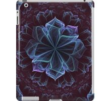 Ornate Blossom in Cool Blues iPad Case/Skin