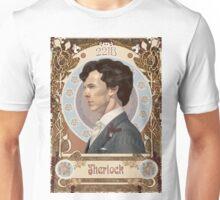 Sherlock Art Nouveau Unisex T-Shirt
