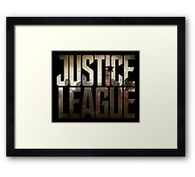 Justice League Framed Print