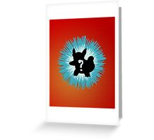 Who's that Pokemon - Wartortle Greeting Card
